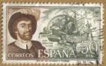 Stamps : Europe : Spain :  Juan Sebastian El Cano