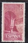 Sellos de Europa - España -  monasterio de Leyre (26)