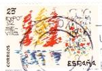 Sellos de Europa - España -  Expo-92 Sevilla-diseño infantil (26)