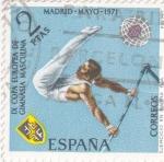 Sellos de Europa - España -  Gimnasia masculina (26)