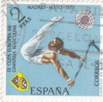 Stamps Spain -  Gimnasia masculina (26)