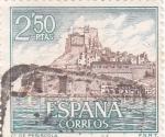 Stamps : Europe : Spain :  castillo de Peñiscola (26)