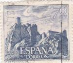 Stamps Spain -  castillo de Monteagudo(26)