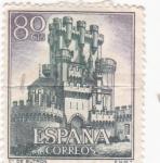Stamps Spain -  castillo de Butron (26)