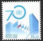 Stamps Russia -  70 Anivº de Naciones Unidas