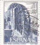 Stamps Spain -  noria arabe-Alcantarilla (26)