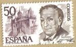Stamps Europe - Spain -  Antonio Machado