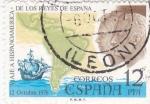 Stamps Spain -  Viaje a Hispanoamerica de los reyes de España (26)