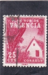 Stamps : Europe : Spain :  PLAN SUR DE VALENCIA-barraca valenciana (26)