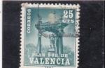 Stamps : Europe : Spain :  PLAN SUR DE VALENCIA-PLAN SUR DE VALENCIA-Casilicio de San Vicente Ferrer (26)