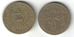 monedas de America - Guatemala -  1 Quetzal