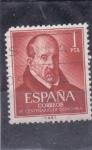 Stamps Spain -  IV centenario de Gongora (26)