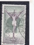 Stamps Spain -  Año santo Compostelano-Puente de la Reina (26)