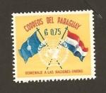 Stamps : America : Paraguay :  Homenaje a las Naciones Unidas