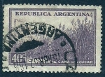 Sellos del Mundo : America : Argentina : Caña de azucar