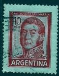 Sellos del Mundo : America : Argentina : Jose San Martin