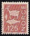 Stamps Norway -  Grabados rupestres