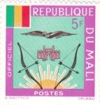 Stamps : Africa : Mali :  Escudo de armas