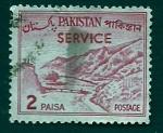Stamps Pakistan -   Paisage