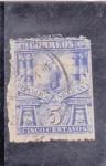 Stamps : America : Mexico :  columnas