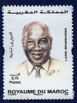 Stamps : Africa : Morocco :   Larbi Ben mbarek