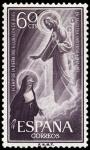 Stamps Spain -  ESPAÑA SEGUNDO CENTENARIO NUEVO Nº 1207 ** 60C VIOLETA GRISACEO CORAZON DE JESUS