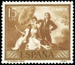 Sellos de Europa - España -  ESPAÑA SEGUNDO CENTENARIO NUEVO Nº 1210 **  15C OCRE GOYA