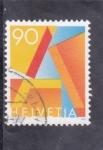 Sellos de Europa - Suiza -  LETRA