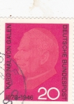 Stamps Germany -  Cardenal Von Galen 1878-1946