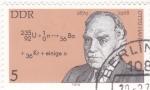 Sellos de Europa - Alemania -  Otto Hahn- Premio Nobel de Química