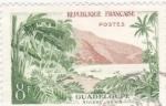 Stamps France -  Guadalupe-Rivera Sens