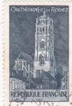 Stamps France -  catedral de Rodez