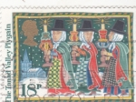 Sellos de Europa - Reino Unido -  fiesta popular navideña