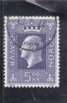 Sellos de Europa - Noruega -  Olav V