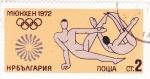 Sellos del Mundo : Europa : Bulgaria :  juegos olimpicos Munich-72