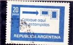 Stamps Argentina -  Coloque aqui sus estampillas