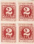 sello : Europa : España : C I F R A (27)