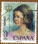 Stamps Spain -  Proclamacion de D. JUAN CARLOS I - Dª SOFIA
