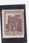 Sellos del Mundo : Europa : España :  Puerta del Sol Toledo (27)