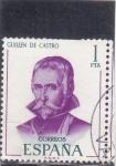 Stamps Spain -  Guillen de Castro (27)