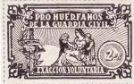 Stamps : Europe : Spain :  Pro-huerfanos de la guardia civil (27)