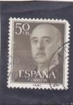 Stamps : Europe : Spain :  generalísimo Franco (27)