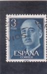 Sellos del Mundo : Europa : España : generalísimo Franco (27)