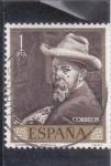 Stamps : Europe : Spain :  autorretrato (Sorolla) (27)