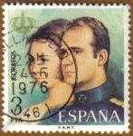 Sellos de America - España -  Proclamacion de D. JUAN CARLOS I y Dª SOFIA