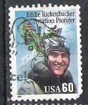 Sellos del Mundo : America : Estados_Unidos :  1995 Eddie Rickenbacker, 1890-1973