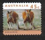 Sellos del Mundo : Oceania : Australia : Kanguros y Koalas