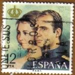 Sellos de Europa - España -  Proclamacion de D. JUAN CARLOS I y Dª SOFIA