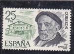Stamps : Europe : Spain :  Pío Baroja (27)