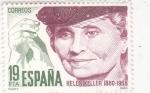 Stamps Spain -  HELLEN KELLER